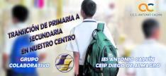 TRANSICIÓN DE PRIMARIA A SECUNDARIA EN NUESTRO CENTRO (Edición 1)